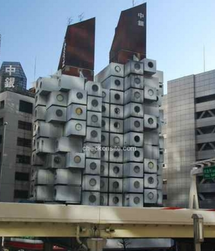 COS nakagin capsule tower