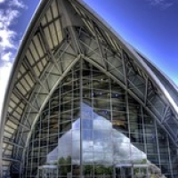 """Clyde Auditorium / The Armadillo • <a style=""""font-size:0.8em;"""" href=""""http://www.flickr.com/photos/54549576@N00/3548739305/"""" target=""""_blank"""">View on Flickr</a>"""